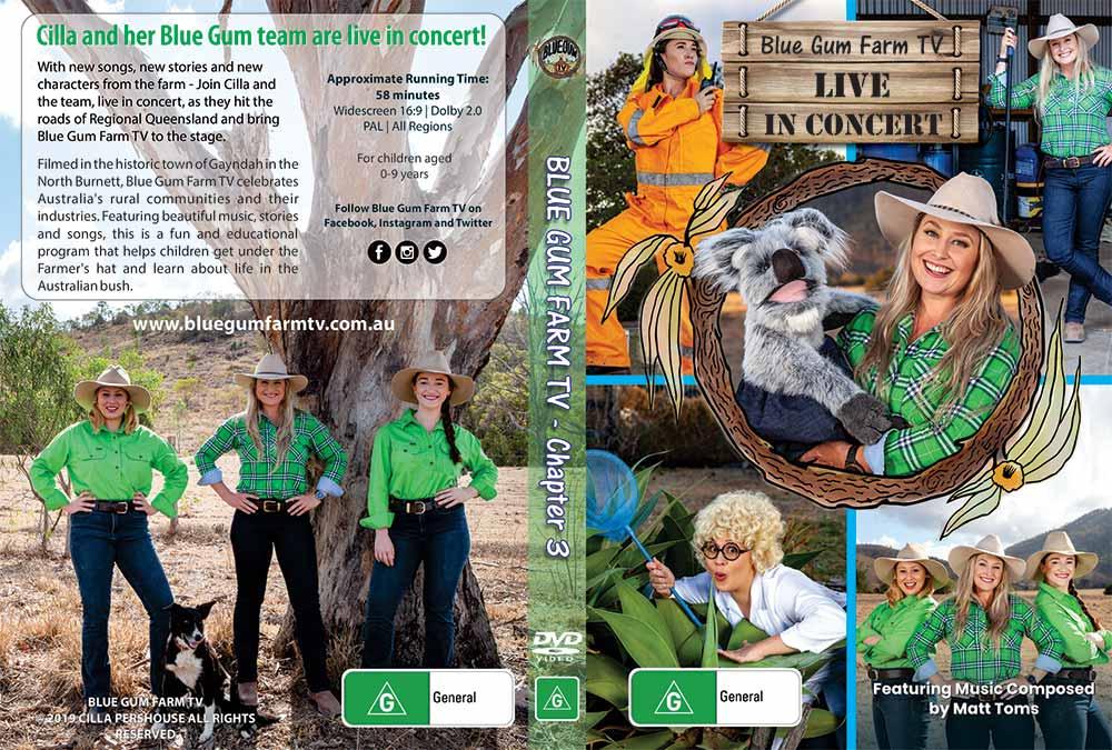 Blue Gum Farm DVD cover