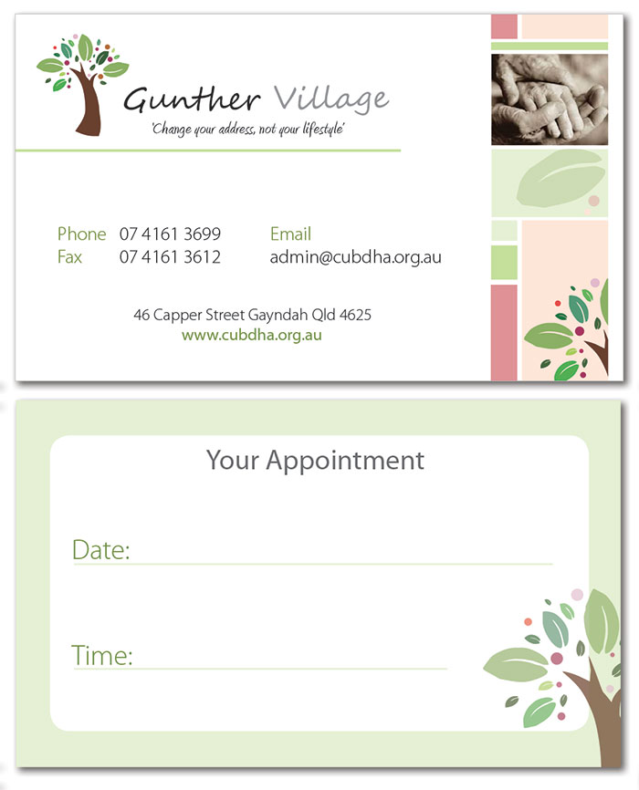Gunther Business Cards
